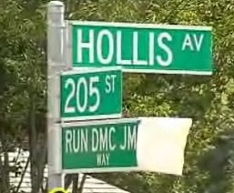 Run-DMC/JMJ Way street sign